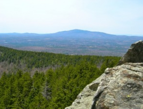 North Pack Monadnock in Spring